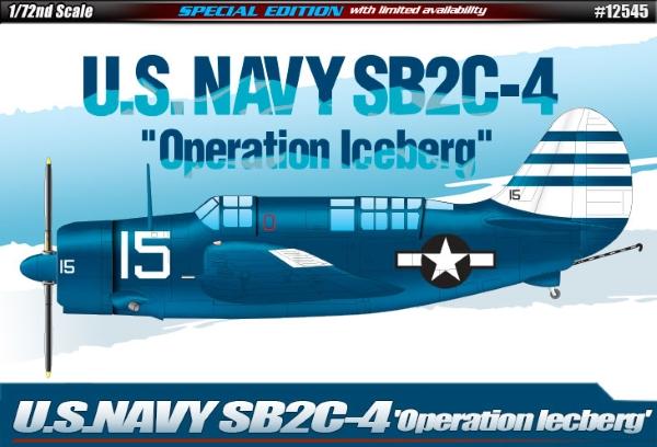Сборная модель Самолет  U.S.Navy SB2C-4