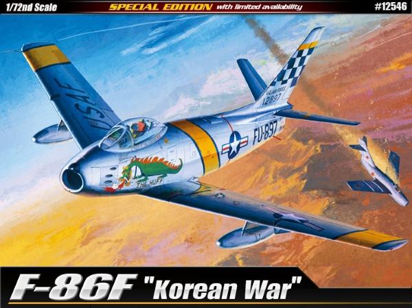 Самолет  F-86F