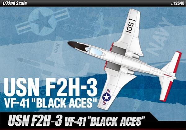 Самолет  USN F2H-3 VF-41