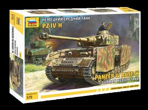 Немецкий средний танк Т-IV H