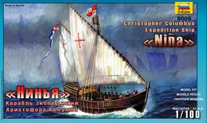Сборная модель Корабль Христофора Колумба Нинья