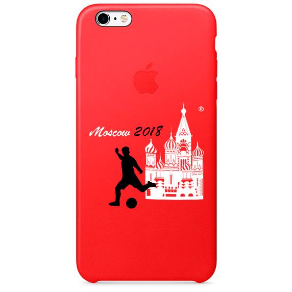 Чехол IPhone 6,7,8 ЧМ 2018 красный