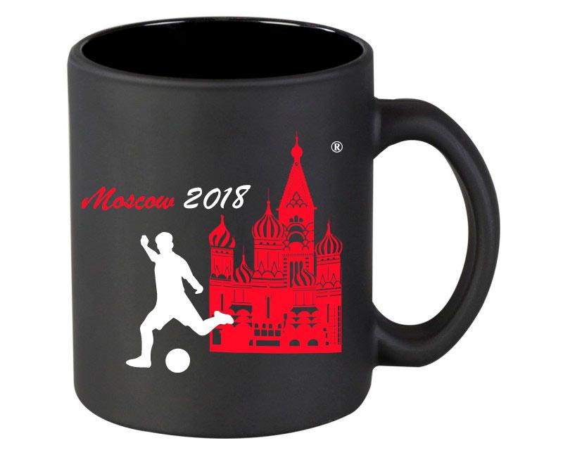 Кружка ЧМ 2018 чёрная