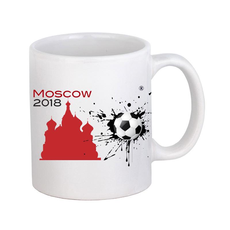 Кружка ЧМ 2018 белая 3