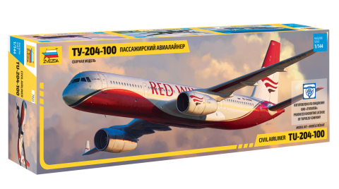 Модель Пассажирский авиалайнер Ту-204-100