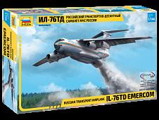 Модель Российский транспортно-десантный самолет Ил-76 ТД МЧС России