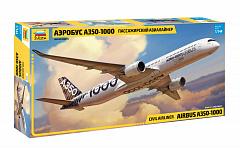 Модель Аэробус А-350-1000 Пассажирский авиалайнер
