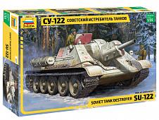 Модель СУ-122 Советский истребитель танков
