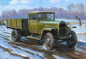 Сборная модель Советский армейский грузовик образца 1943 года ГАЗ–ММ