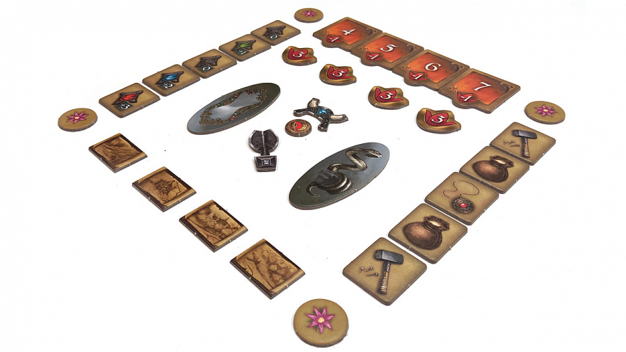 Настольная игра - Андор. Потерянные Легенды.