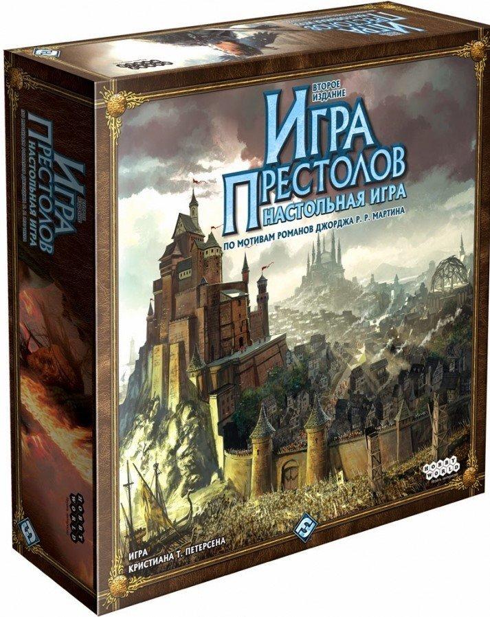 Настольная игра Игра Престолов - Второе издание знаменитой настольной страте