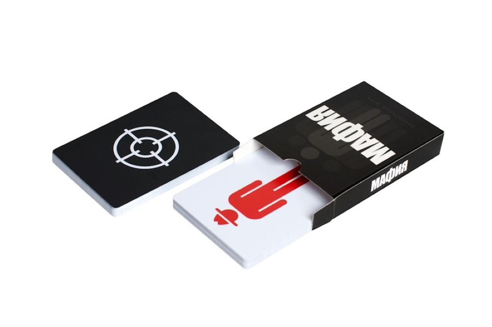 Настольная игра Игра Мафия «Full Edition» (карты 100% пластик, 42 шт)