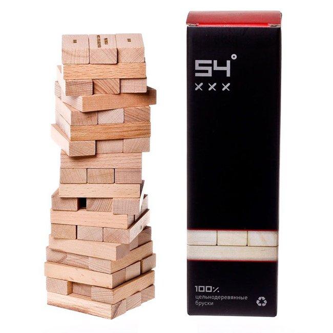 Настольная игра 54 Градуса. Алкогольная Башня