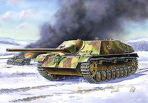 Сборная модель Немецкий истребитель танков Ягдпанцер IV