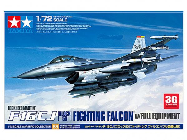 F-16 CJ Fighting Falcon с полным вооружением