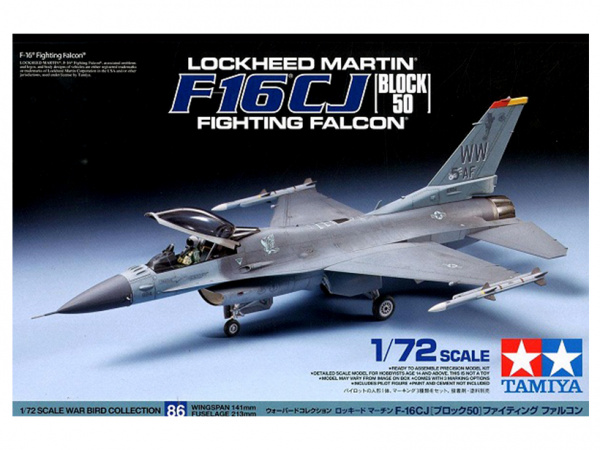 Модель F-16 CJ Fighting Falcon - Block 50