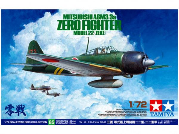 Модель A6M3/3a Zero Fighter Model 22 (Zeke) японский истрибитель