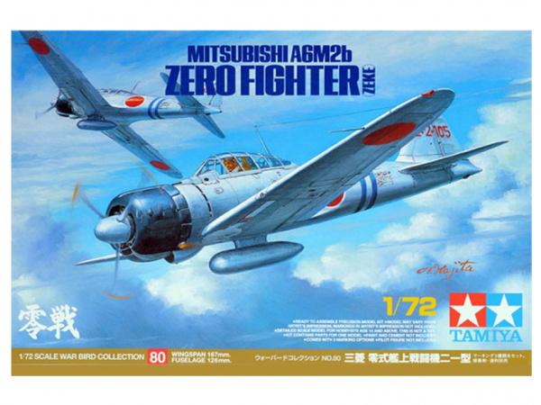 Mitsubishi A6M2b (ZEKE) Японский палубный истребитель - Zero