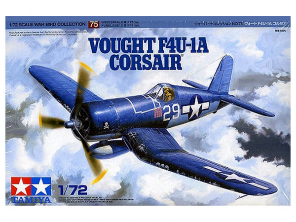 Модель Vought F4U-1A Corsair Американский палубный истребитель