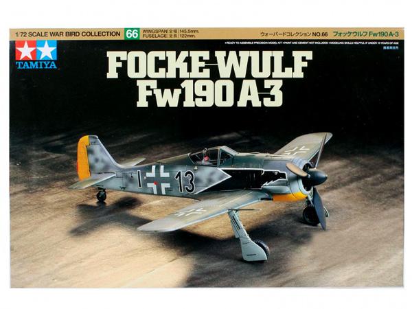 Модель Focke-Wulf Fw190A-3 (1:72)