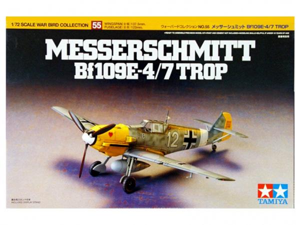 Модель Messerschmitt Bf 109E-4/7 Trop (1:72)