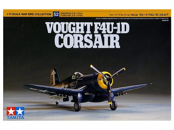 Модель Vought F4U-1D Corsair (1:72) Американский палубный истребите