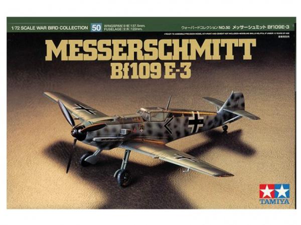 Модель Messerschmitt Bf 109E-3 (1:72) Немецкий истребитель