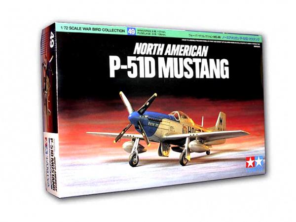 Модель North American P-51D Mustang (1:72) Американский истребитель