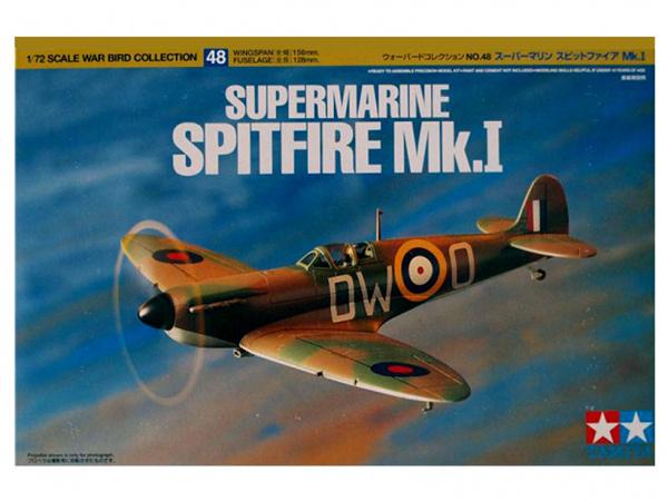 Supermarine Spitfire Mk.I (1:72) Британский истребитель