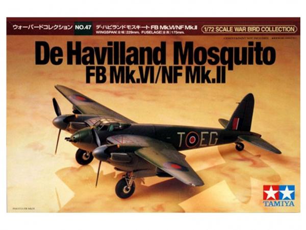 Модель De Havilland Mosquito FB Mk.VI/HF Mk.II (1:72)