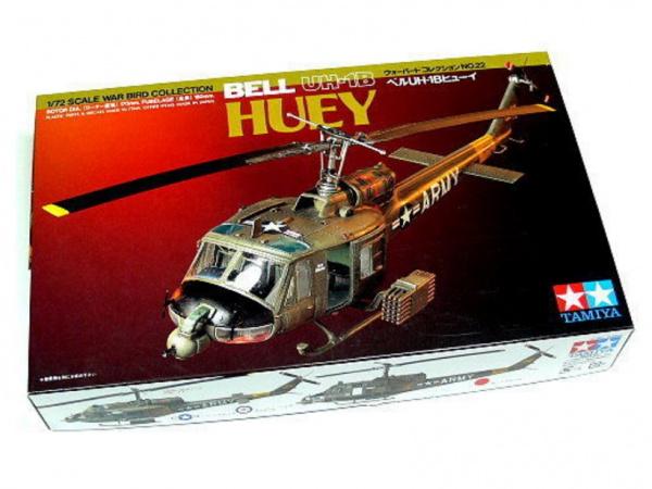 Модель Bell UH-1B Huey (1:72) Американский многоцелевой вертолёт