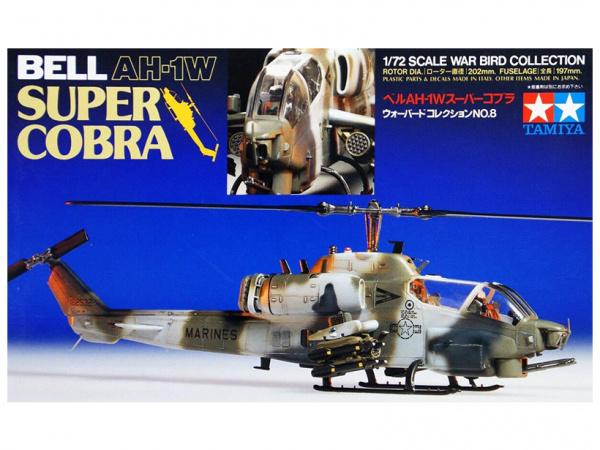 Модель Bell AH-1W Super Cobra (1:72) Американский боевой вертолет
