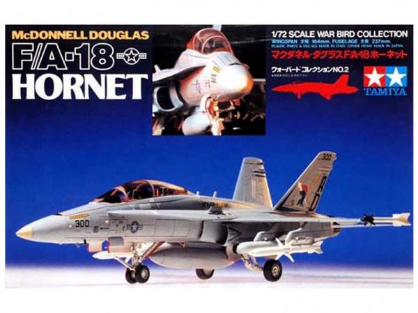 Модель McDonnell Douglas F/A-18 Hornet (1:72)