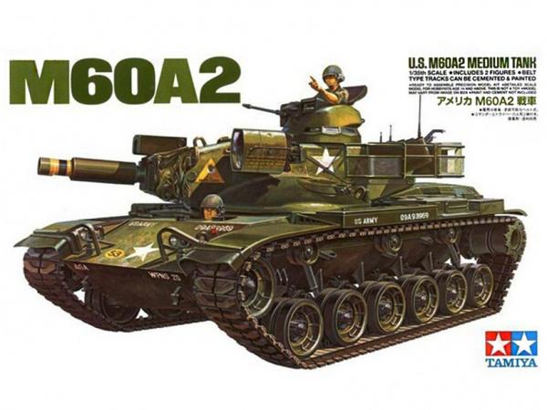 Модель M60A2 Американский средний танк с двумя фигурами (1:35)