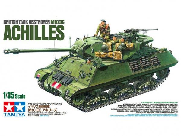 Модель M10 IIC Achilles Американская противотанковая САУ с тремя фи