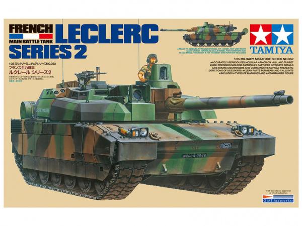 Модель Leclerc Series 2 Французский основной танк с фигурой команди