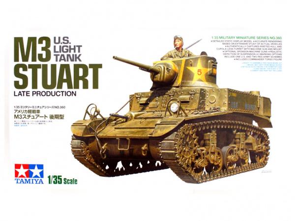 Модель M3 Stuart