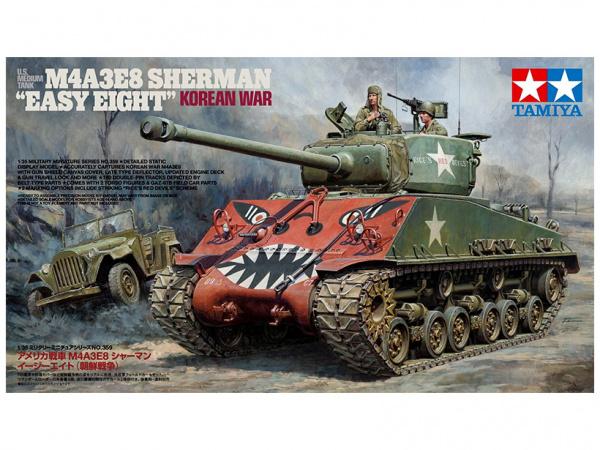Модель M4A3E8 Sherman Easy Eight (1:35)