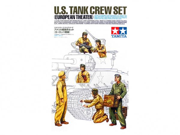 Модель Американские танкисты на отдыхе. Европейская кампания. 6 фиг