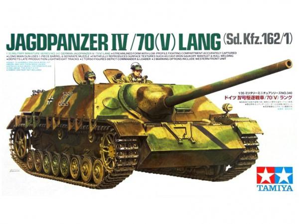 Модель Jagdpanzer IV /70 (V) Lang Немецкая противотанковая САУ с дв