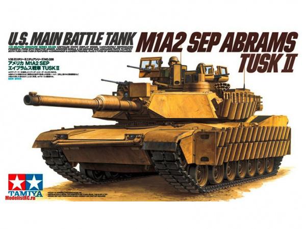 Модель Американский танк M1A2 SEP Abrams TUSK II (Иракский конфликт