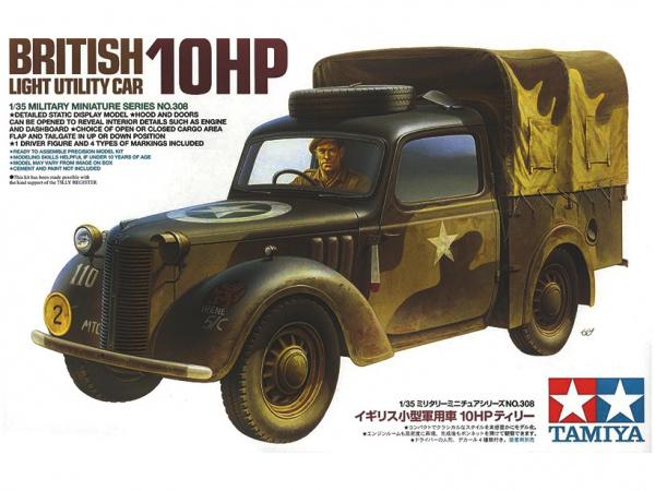 Модель Британский легкий многоцелевой автомобиль 10 HP с фигурой во