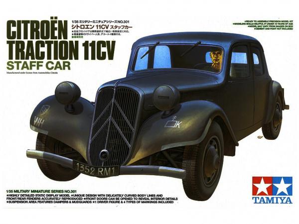 Модель Автомобиль Citro?n Traction 11CV с фигурой водителя (1:35)