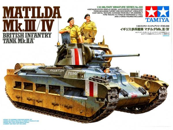 Модель Британский танк Matilda MkIII/IV (1:35)