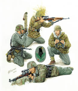 Сборная модель Немецкие снайперы