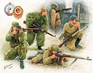 Сборная модель Советские снайперы