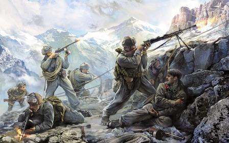 Модель Советские горные стрелки