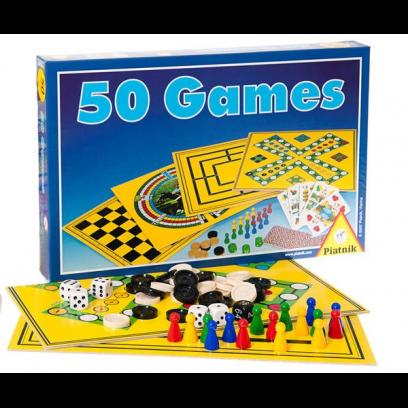 Настольная игра Набор «50 игр»