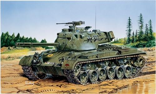 Модель M-47  Паттон - Patton