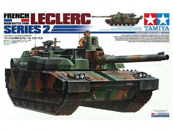 Французский танк Leclerc Series 2 (1:35)
